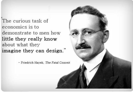 Hayek on the task of economics